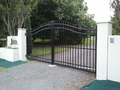 Grand Double Swing Gate with Automation