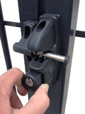 Double Sided Gravity Latch Lock