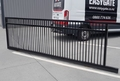 Animal Friendly Sliding Gate - with smaller 60mm Picket Gaps