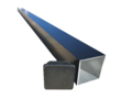 Aluminium Post 1.9m long 75 x 75 x 3mm