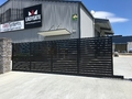 "Slat Sliding gate ""click more info"""